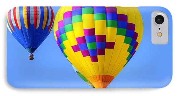 Hot Air Heium Balloons IPhone Case