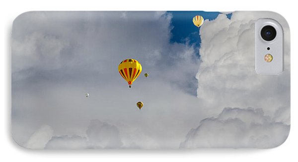 IPhone Case featuring the photograph Hot Air Rising by Dennis Bucklin