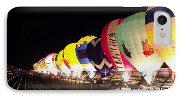 IPhone Case featuring the photograph Balloon Glow by John Swartz
