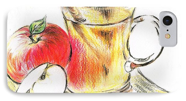 Hot Apple Cider IPhone Case by Teresa White