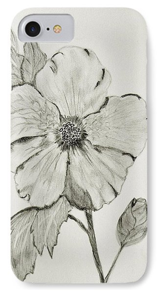 IPhone Case featuring the drawing Hot Biscuit by Celeste Manning