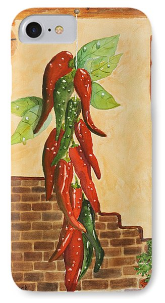 Hot Chili Peppers Phone Case by Patricia Novack