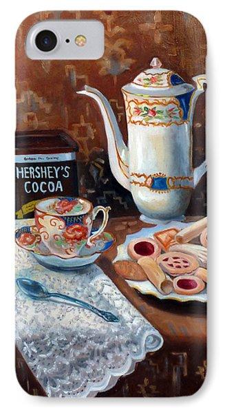 Hot Chocolate Pot IPhone Case