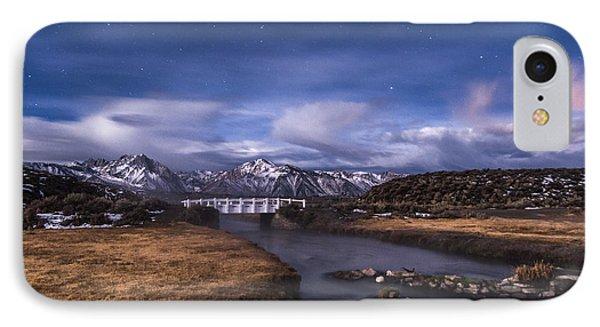Hot Creek Bridge IPhone Case