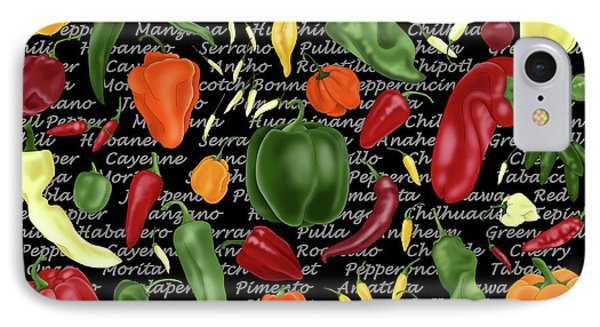 Hot For Chilis IPhone Case