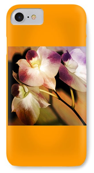 Hot Orchid Nights IPhone Case by Holly Kempe