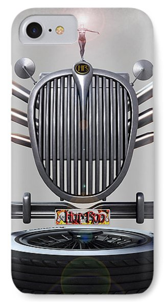 Hot Rod Crest Phone Case by Frederico Borges
