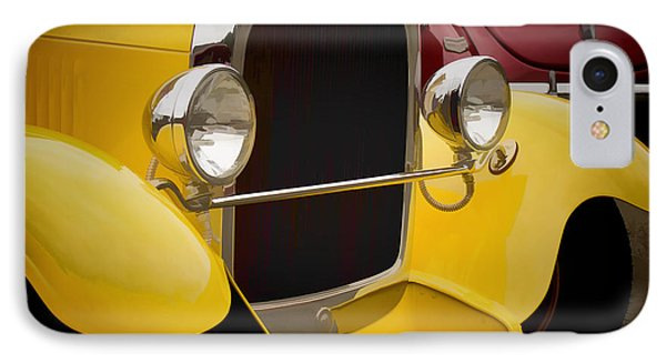 Hot Rod Fords Phone Case by Ron Roberts