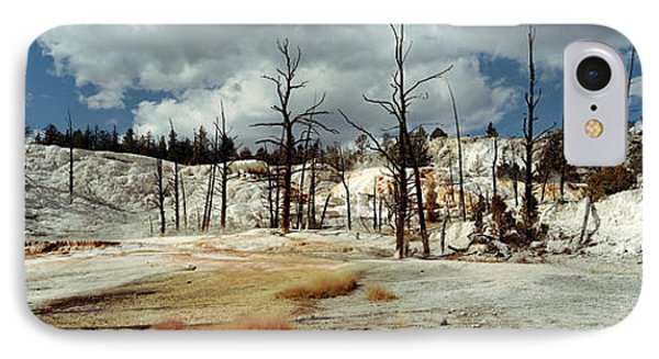 Hot Spring On A Landscape, Angel IPhone Case by Panoramic Images
