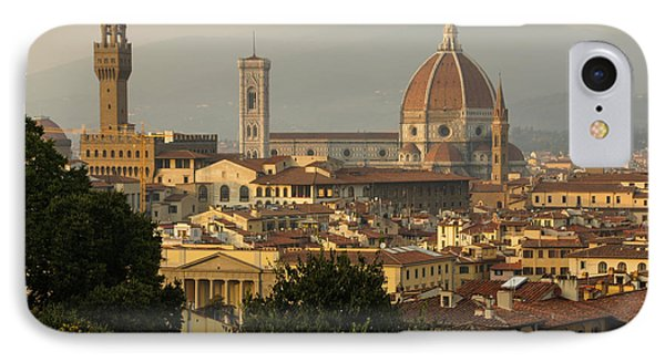 Hot Summer Afternoon In Florence Italy IPhone Case