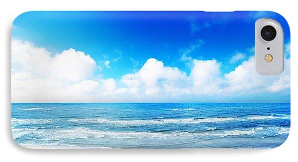 Hot Summer Beach Phone Case by Michal Bednarek