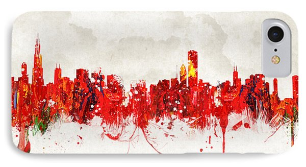Hot Summer Day In Chicago Phone Case by Aged Pixel