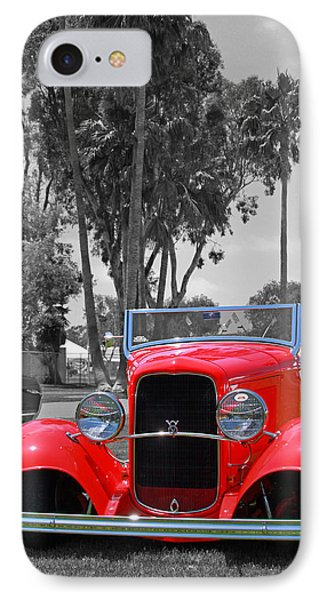 IPhone Case featuring the photograph Hot V8 by Shoal Hollingsworth