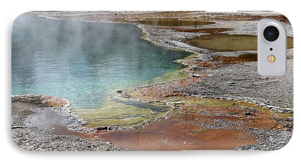 IPhone Case featuring the photograph Hot Water At Yellowstone by Laurel Powell