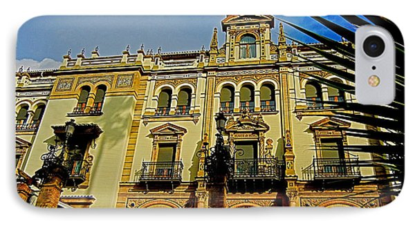 Hotel Alfonso Xiii - Seville Phone Case by Juergen Weiss