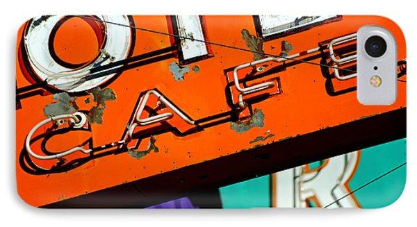 Hotel Cafe Bar In Alma IPhone Case by Daniel Woodrum