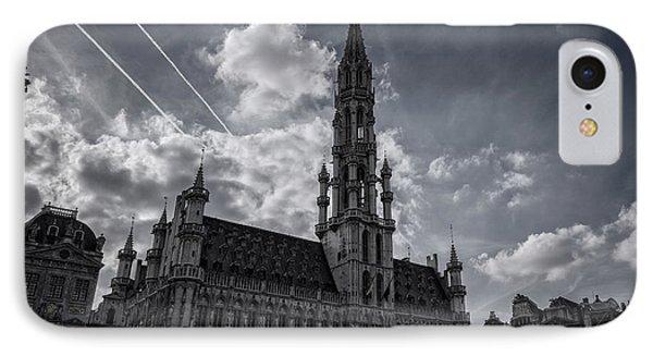 Hotel De Ville Brussels IPhone Case