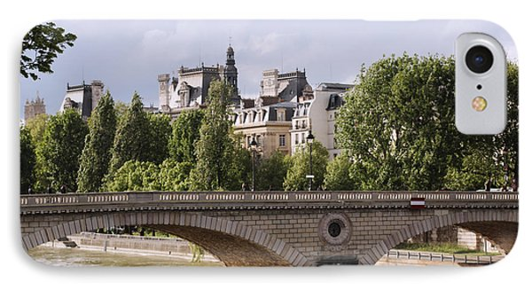 Hotel De Ville In Color IPhone Case by Heidi Hermes