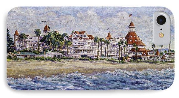 Hotel Del Beach IPhone Case by Glenn McNary