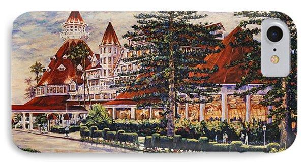 Hotel Del Sunset IPhone Case