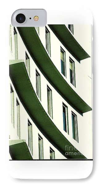 IPhone Case featuring the photograph Hotel Ledges Of A New Orleans Louisiana Hotel by Michael Hoard