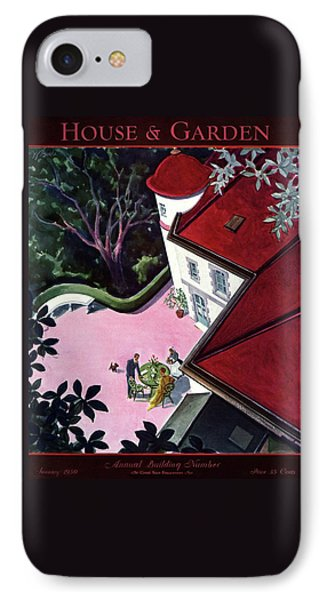 House And Garden Annual Building Number Cover IPhone Case by Walter Buehr
