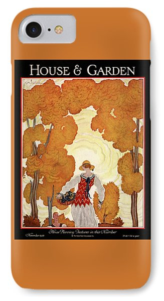House And Garden House Planning Number Cover IPhone Case