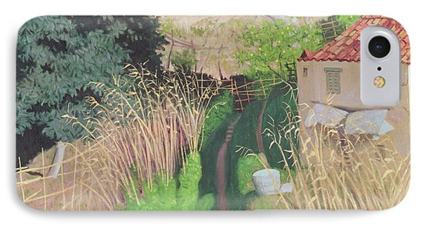 House And Reeds IPhone Case by Felix Edouard Vallotton