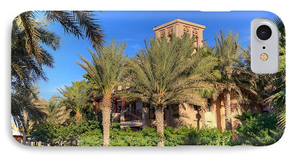 House At Madinat Jumeira Dubai Phone Case by Fototrav Print