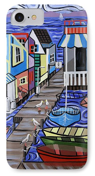 House Boats For Sale Phone Case by Anthony Falbo