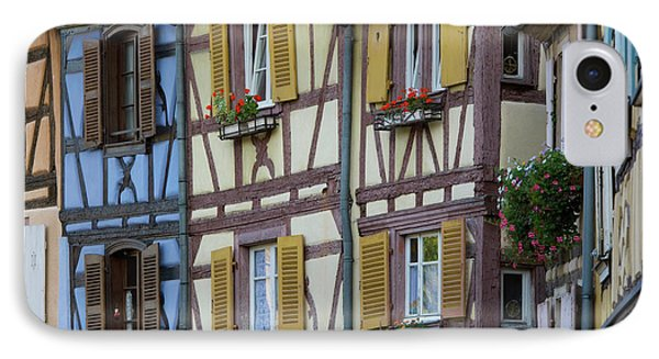House, Colmar, Alsace, France IPhone Case by Peter Adams