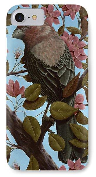 House Finch IPhone 7 Case by Rick Bainbridge