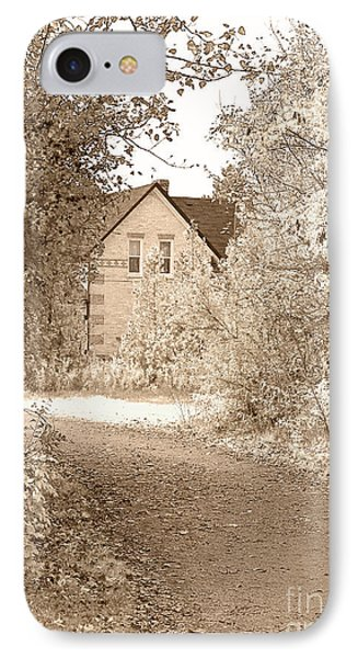 House In Autumn Phone Case by Blink Images