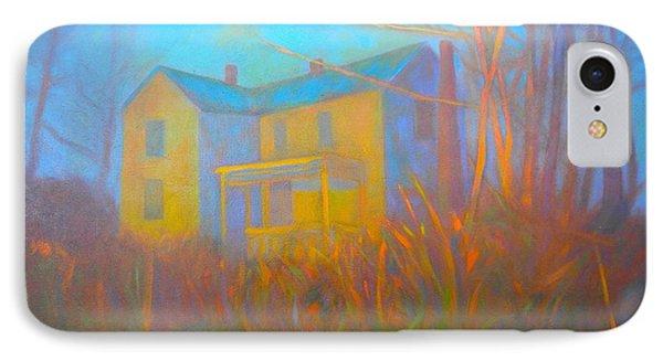 House In Blacksburg IPhone Case by Kendall Kessler
