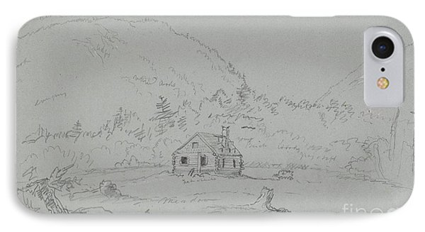 House In Mount Desert IPhone Case