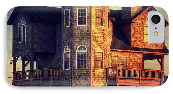 House In Rodanthe At Sunset IPhone Case by Patricia Januszkiewicz
