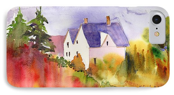 House In The Country IPhone Case by Yolanda Koh