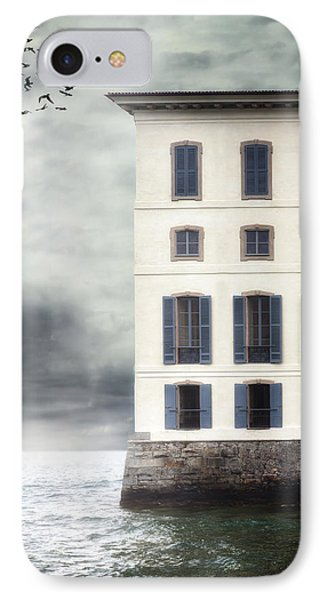 House In The Sea IPhone Case by Joana Kruse