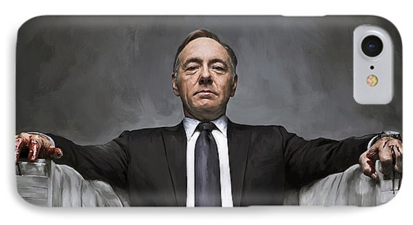 House Of Cards Artwork IPhone Case by Sheraz A