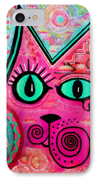 House Of Cats Series - Catty Phone Case by Moon Stumpp