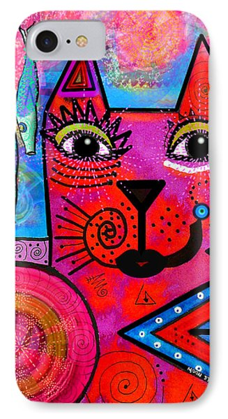 House Of Cats Series - Tally Phone Case by Moon Stumpp