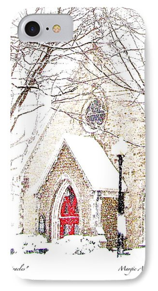 House Of Mracles IPhone Case by Margie Amberge