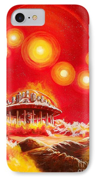 House Of The Rising Suns IPhone Case by Murphy Elliott