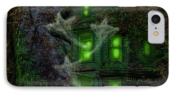 House On Haunted Hill IPhone Case by Doug Kreuger