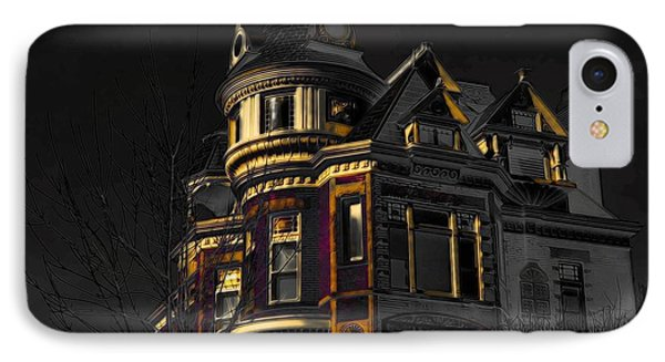 House On The Hill Phone Case by Liane Wright