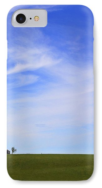 House On The Hill IPhone Case by Mike McGlothlen