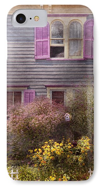 House - Victorian - A House To Call My Own  Phone Case by Mike Savad