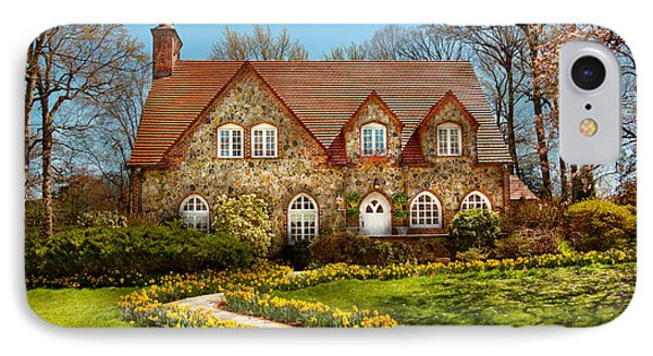 House - Westfield Nj - The Estates  Phone Case by Mike Savad