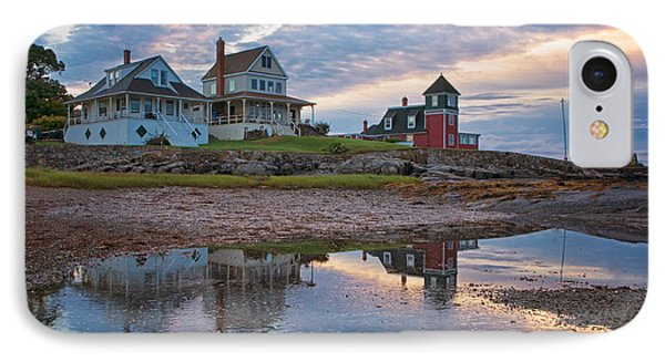 Houses By The Cribstone IPhone Case by Darylann Leonard Photography