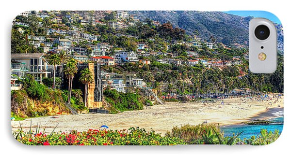 Houses By The Sea IPhone Case by Kevin Ashley